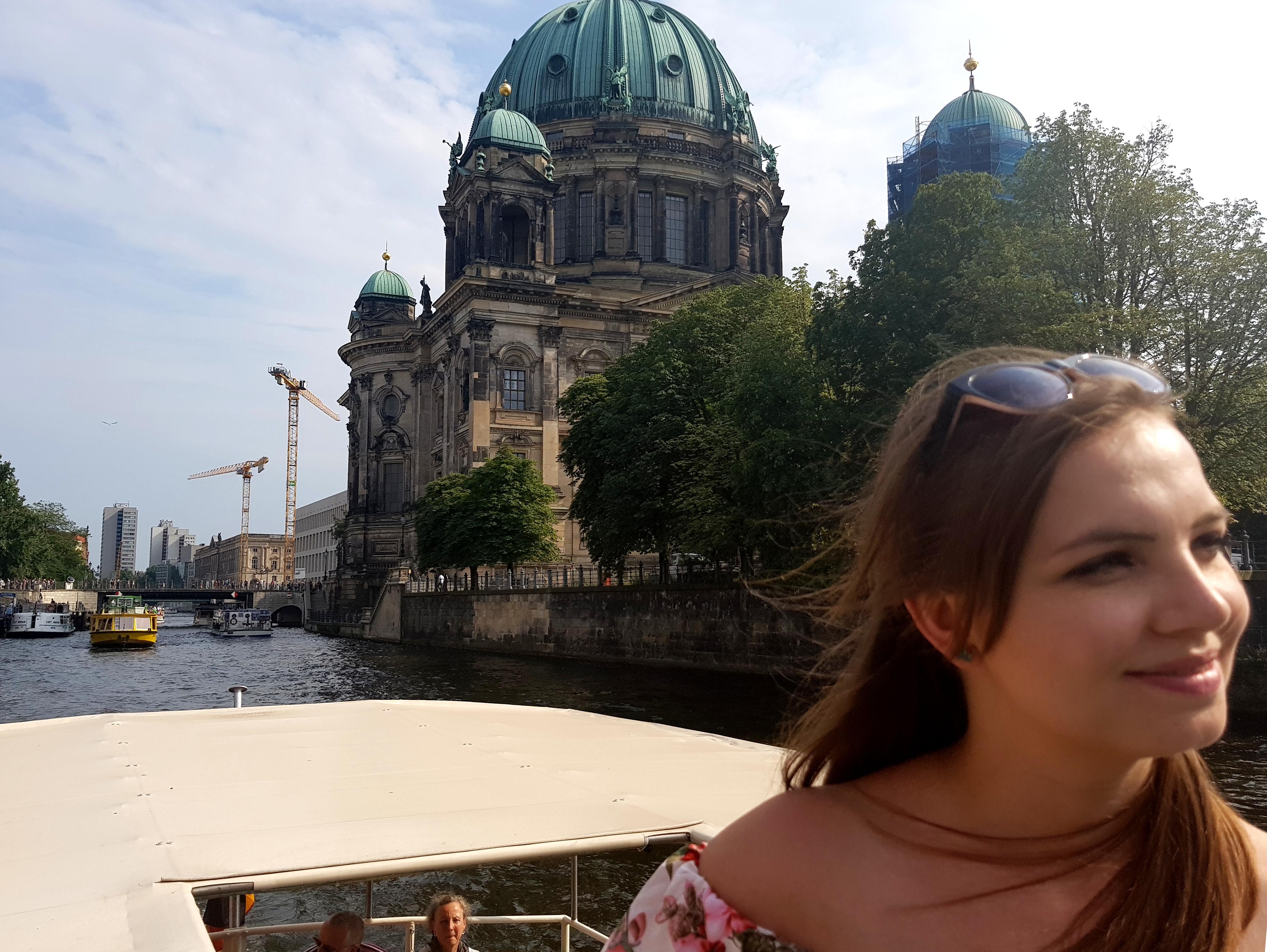 Rejs statkiem przez Berlin